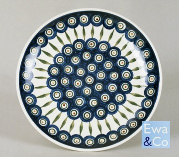 small dinner plate 255cm & small dinner plate 255cm | Polish Pottery | Ewa \u0026 Co.